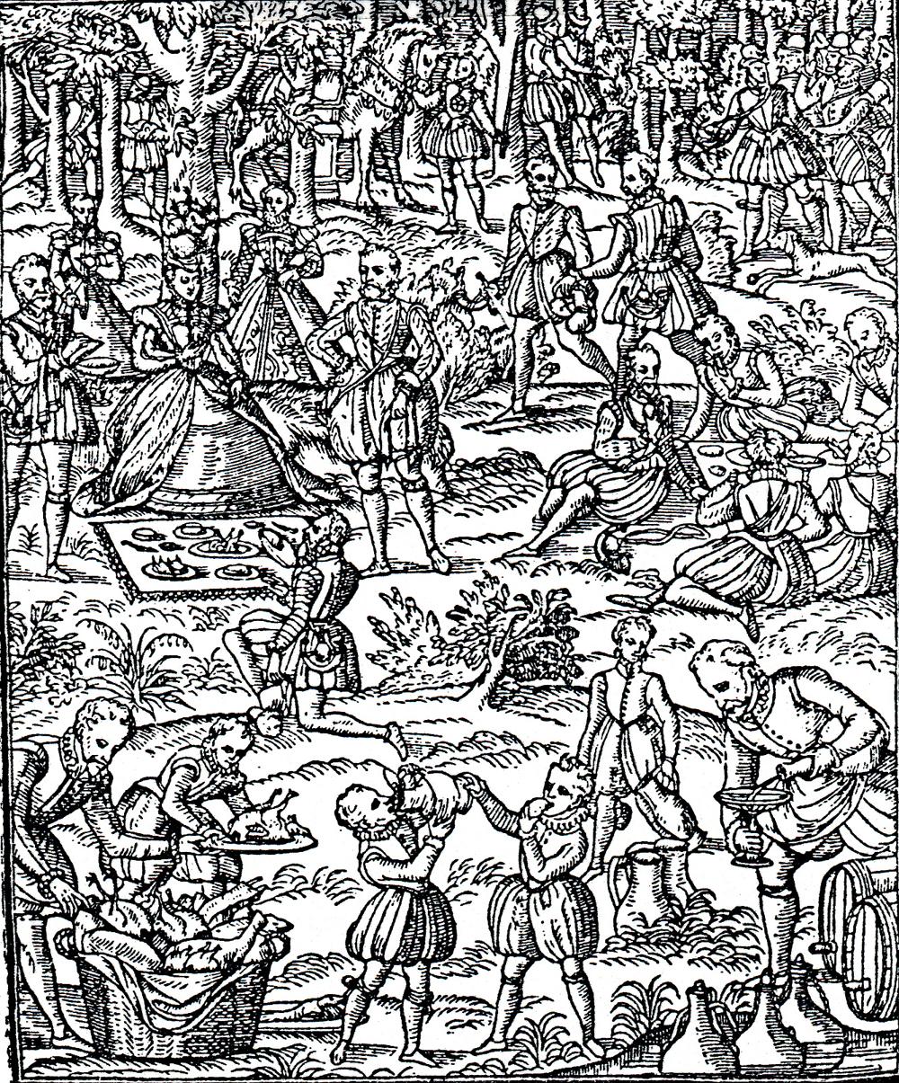 George Gascoigne's The Noble Arte of Venerie or Hunting (1575)