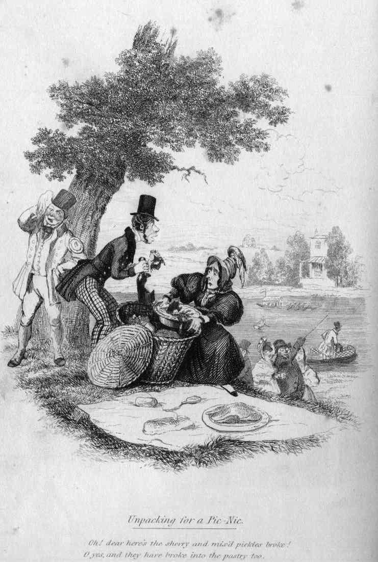 Robert Seymour's The Pic-Nic II (1836c.)