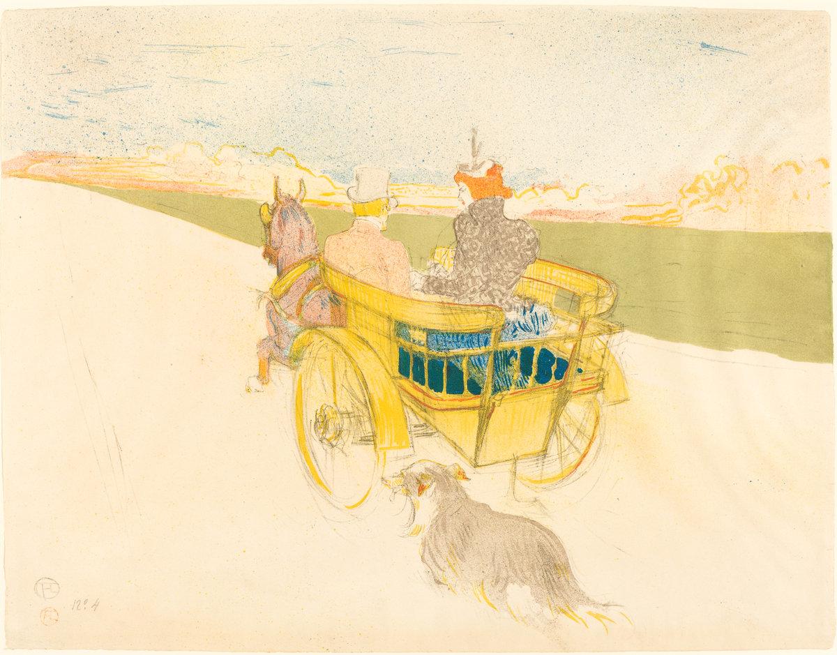 Toulouse-Lautrec's Partie de Campagne