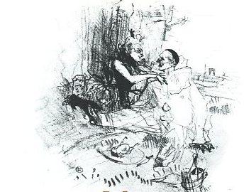 Toulouse-Lautrec's Pierrot