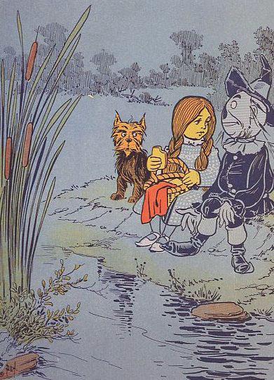 L. Frank Baum's The Wonderful Wizard of Oz (1900)