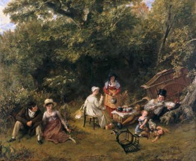 Charles Robert Leslie's Gypsying (1820)