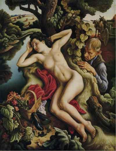 Thomas Hart Benton's Persephone (1938)