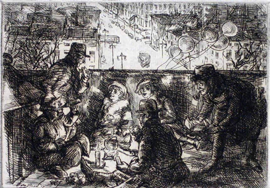 John Sloan's  Arch Conspirators (1917)