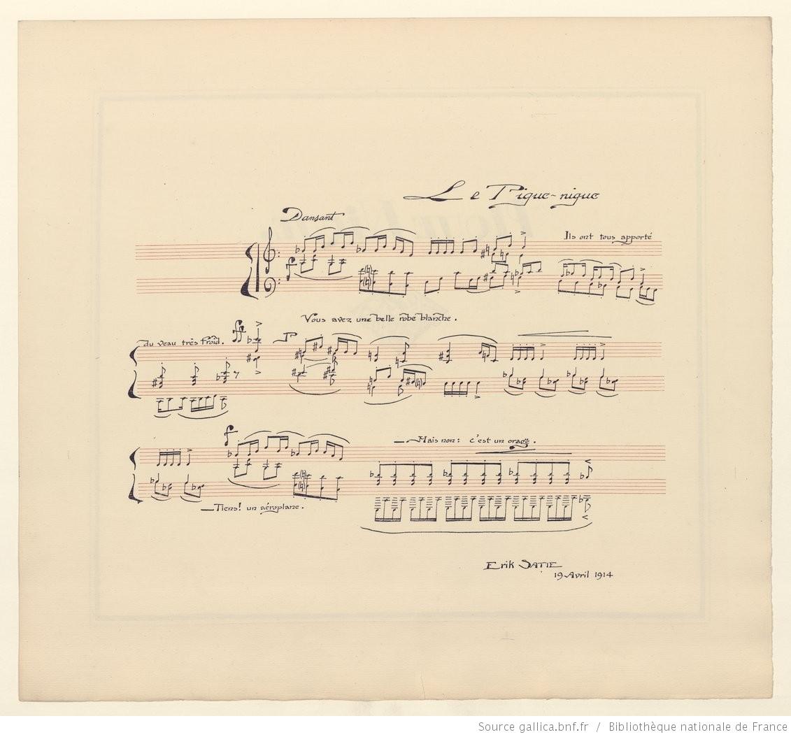 Satie's Le Pique-Nique