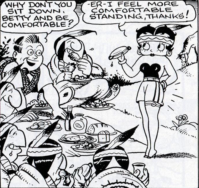 Betty Boop's Hotdog