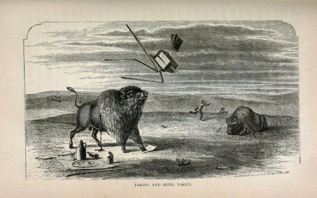 "Henry Worrall's Buffalo Joke ""Taking and Being Taken"" (1872)"