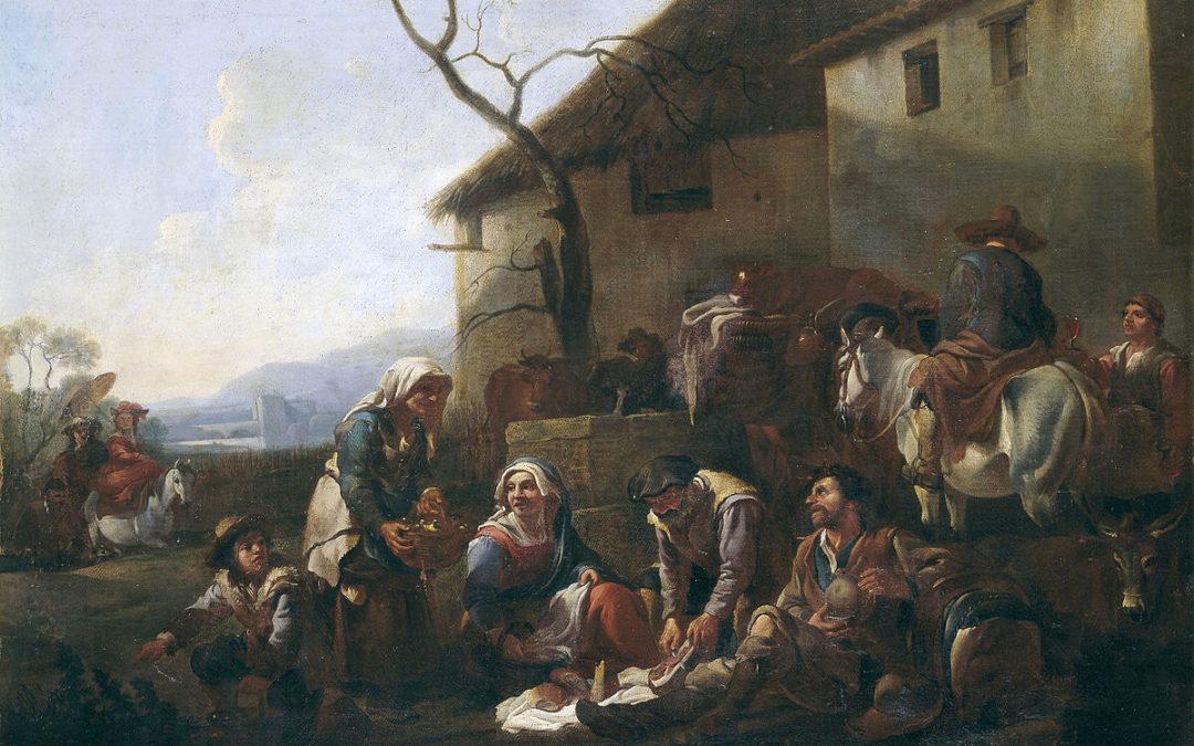 Jan Miel's La Merienda (1650s)