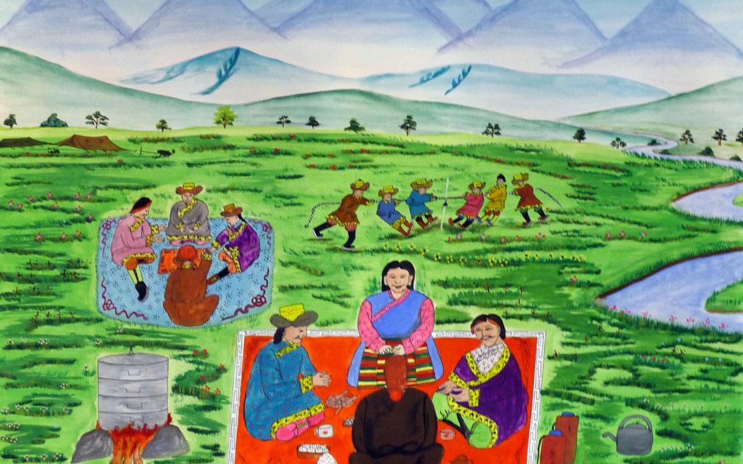 Banks' Tibetan Picnic