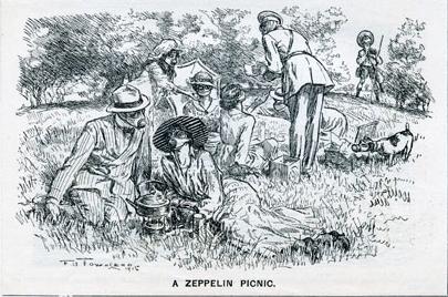 Frederick Henry Townsend's Zeppelin Picnic (1915)