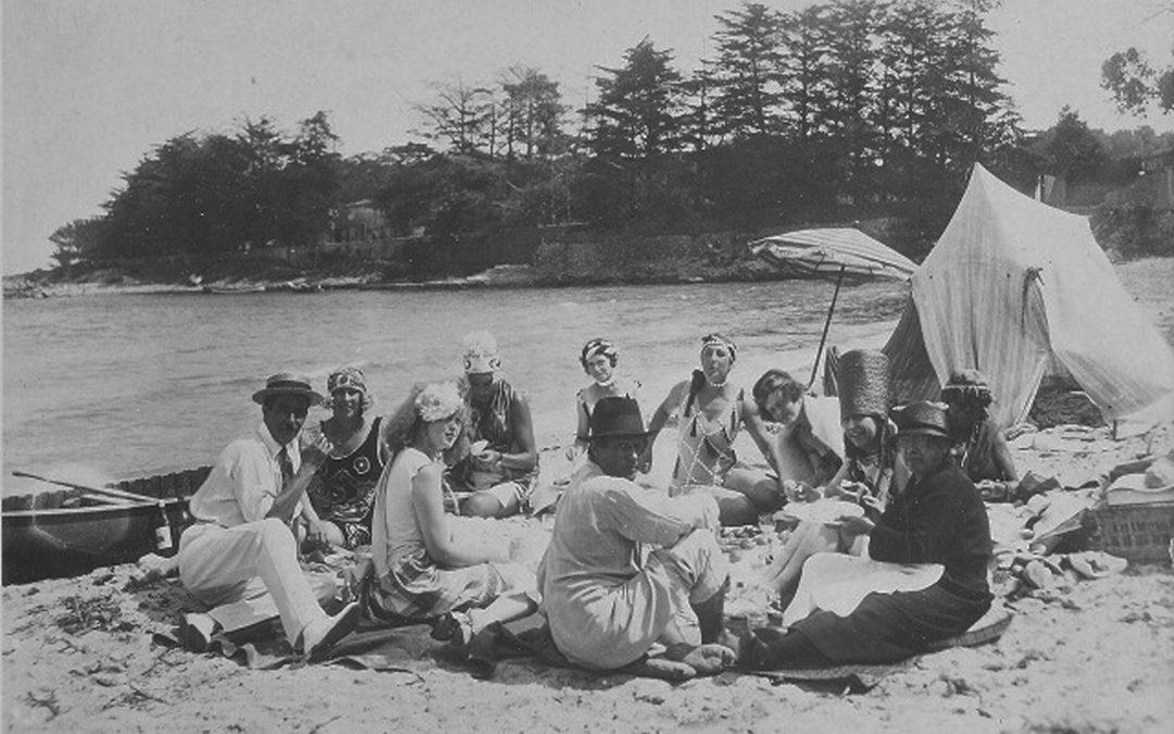 Sara & Gerald Murphy picnic in Antibes