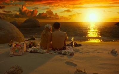 Terry Gilliam's Virtual Beach Picnic in Zero Theorem